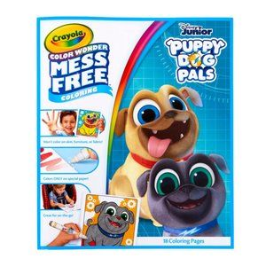 5/$15 Crayola Mess Free Color Puppy Dog Pals 18 Ct